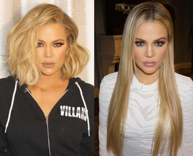 Khloé Kardashian shocked us all when she traded her length in for a dramatic lob, but then she went all Rapunzel on us with some EPIC extensions.