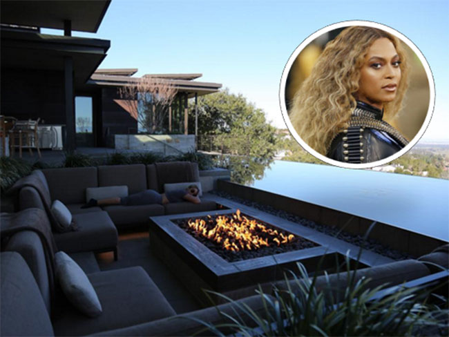 Beyoncé stayed at an amazing Airbnb for the Super Bowl