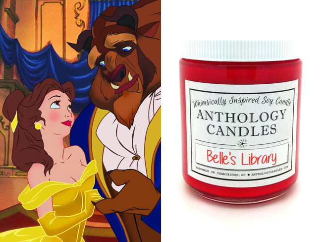 Beauty and the Beast candles are happening