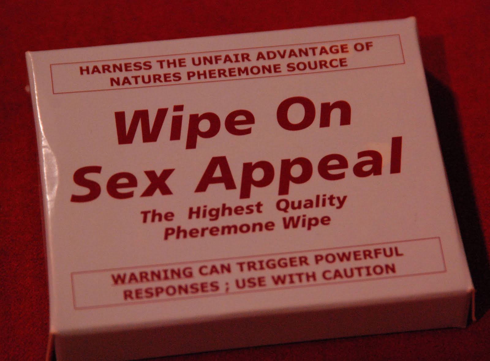 What's the deal with pheromone wipes?!