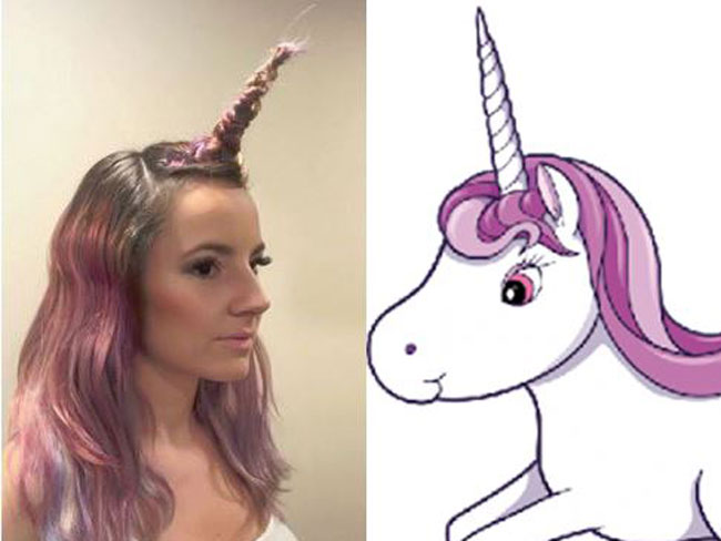 Unicorn hair is the latest thing