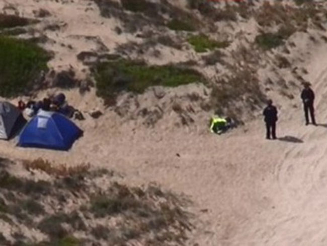 Two backpackers are recovering in Adelaide after surviving a horrific Wolf Creek-style attack