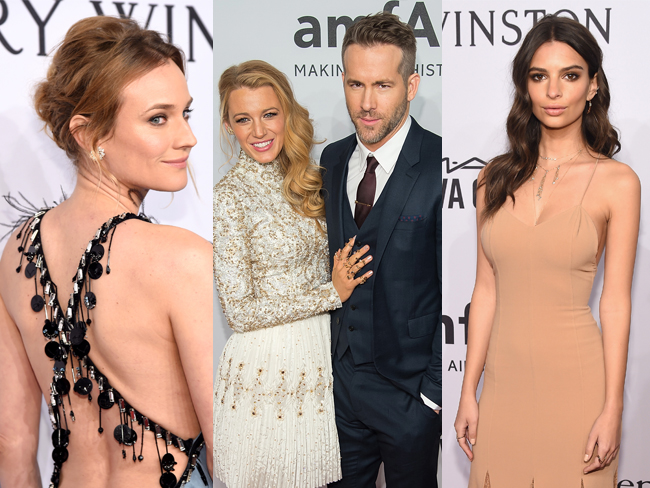 Blake Lively and Ryan Reynolds were the ultimate #relationshipgoals at the amFAR Gala