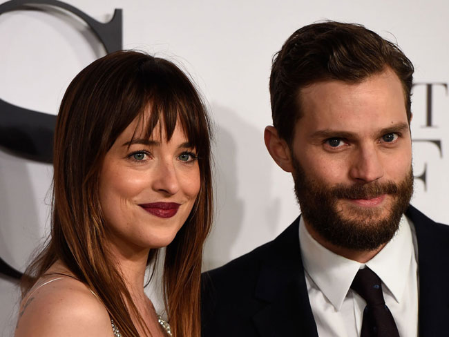 Dakota Johnson promises to get Jamie Dornan fully naked in Fifty Shades sequel