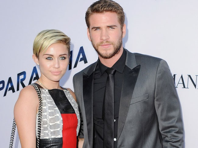 Miley Cyrus Liam Hemsworth married