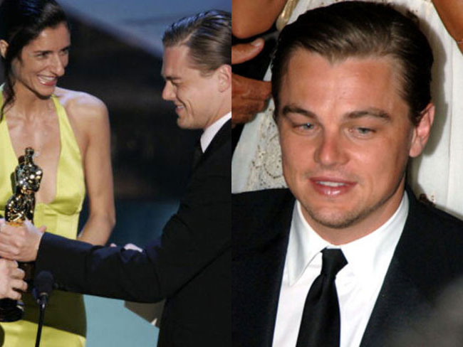 11 photos of Leonardo DiCaprio not winning Oscars at the Oscars