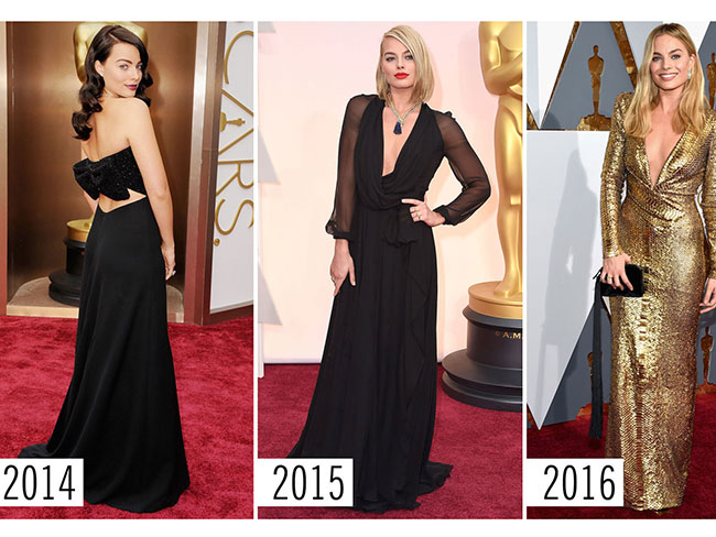 16 must-see Academy Awards style evolutions