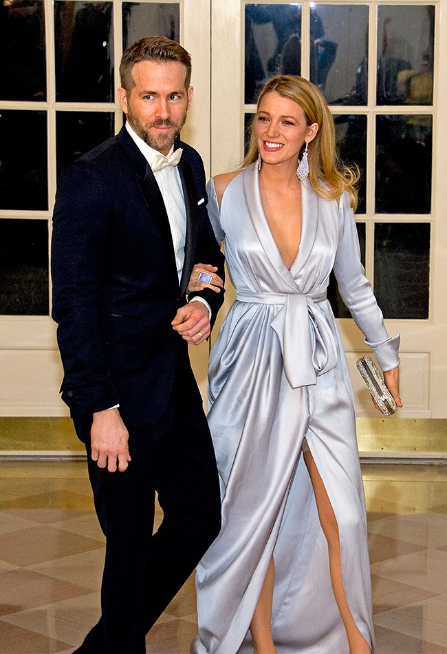 Mr and Mrs Perfection were attending a State Dinner in honour of the Prime Minister of Canada at the White House, hence the ~fancy~ threads.