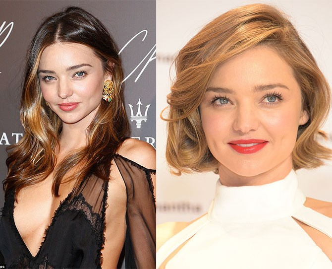 Miranda Kerr is not only known for her signature dimples, but for her wavy, long, locks! Kerr debuted her new short bob during an appearance in Tokyo and we are literally bowing down RN. Slay.