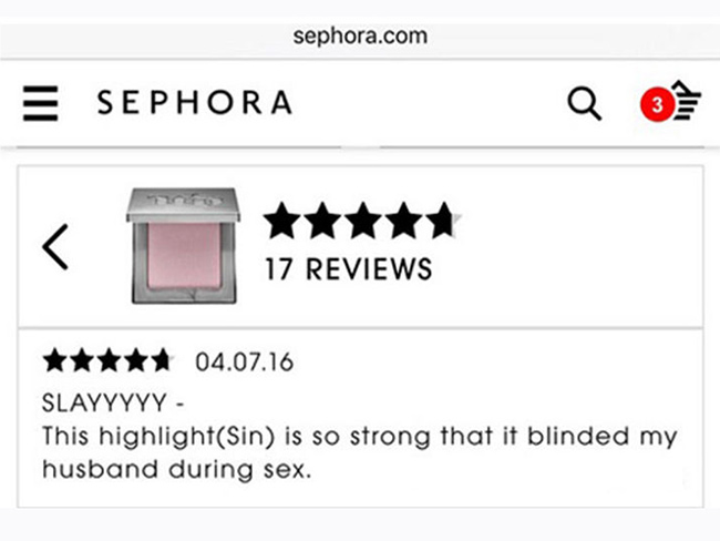 These hilarious makeup reviews are about to be your new favourite thing