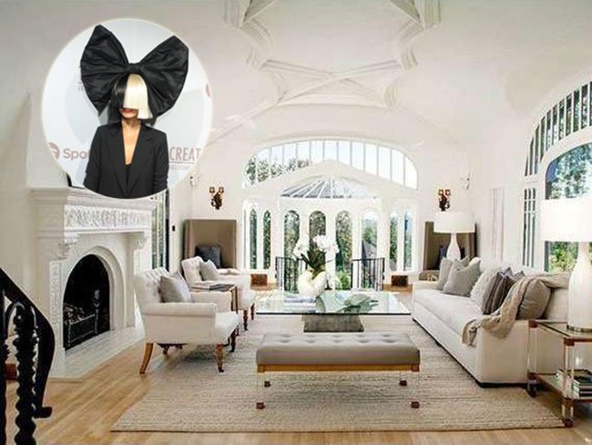 See inside Sia's house which she just sold for $6.2 million