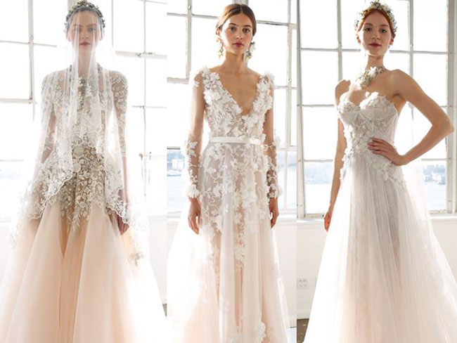 Marchesa's new bridal collection is heavenly