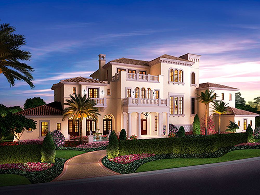 Buy a house in disney world thanks to golden oak florida for Homes to build on acreage