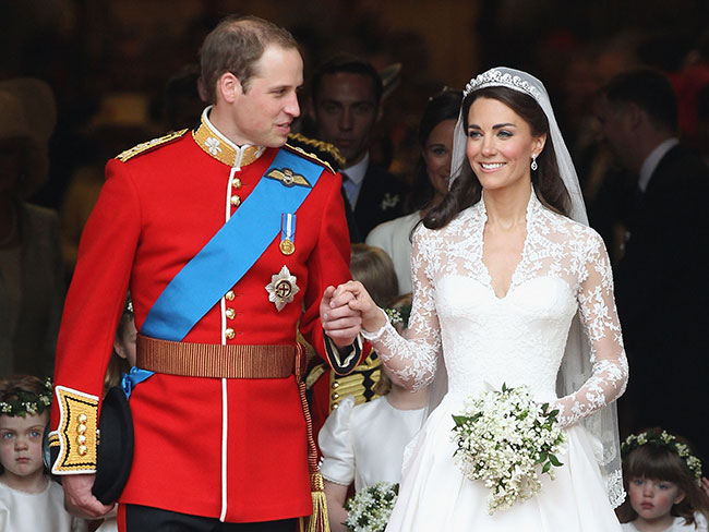 Alexander McQueen is being sued for copying Kate Middleton's wedding dress