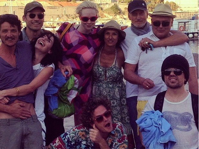 The best 'grams from the Game of Thrones cast members