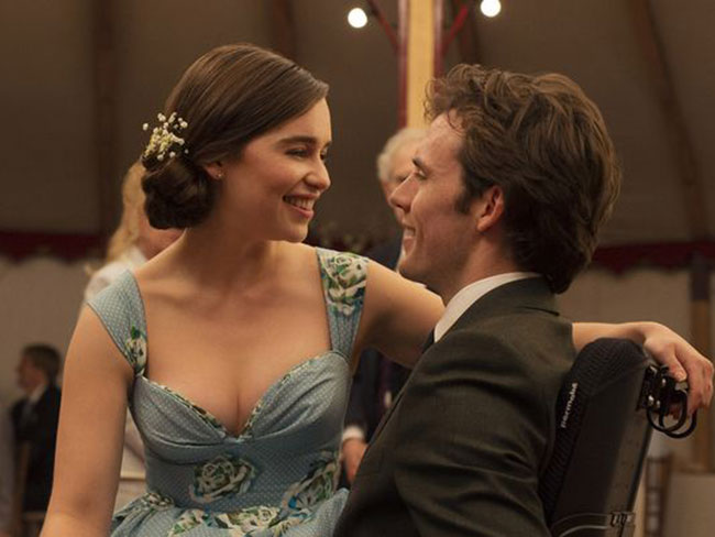 There's a new 'Me Before You' trailer and we're not crying, you are