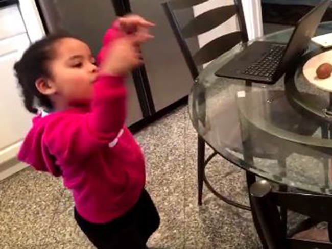 This little girl dancing to Lemonade is perfection
