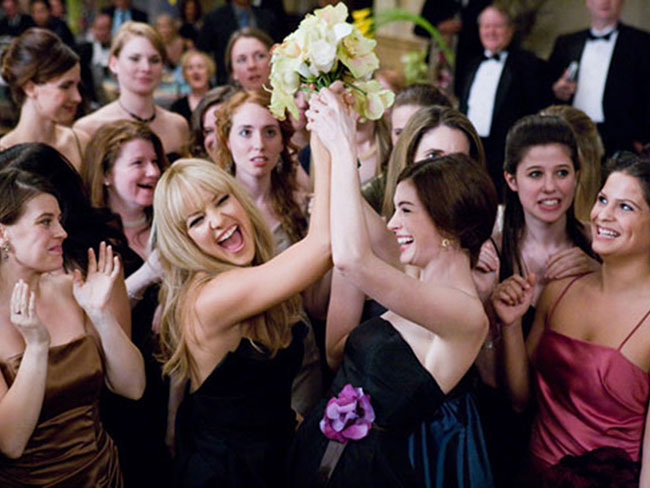 The real reason brides throw their bouquet is cray cray