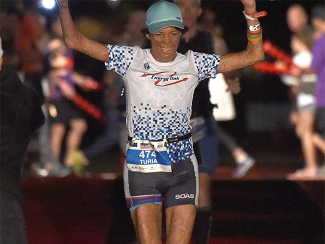 Turia Pitt completes ironman triathlon and we're bowing down rn
