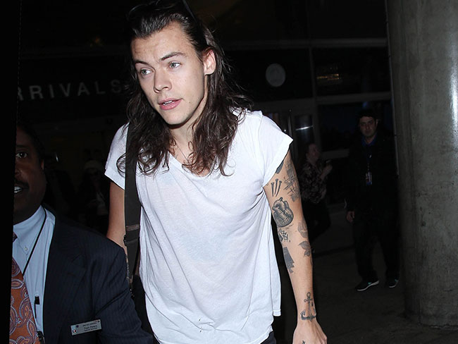 Harry Styles has cut off his beautiful hair