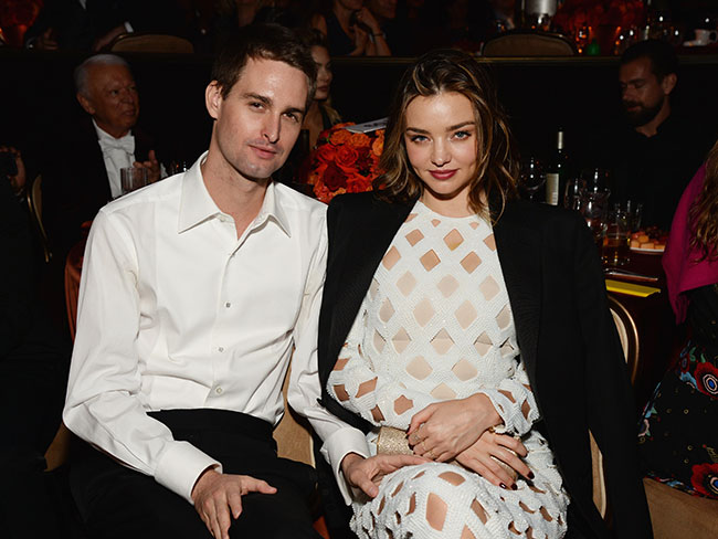 Miranda Kerr and Evan Spiegel's new LA mansion is fully RIDONK