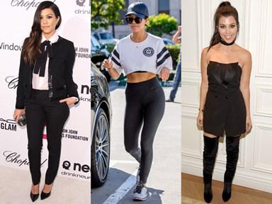 25 times Kourtney Kardashian's style totally slayed