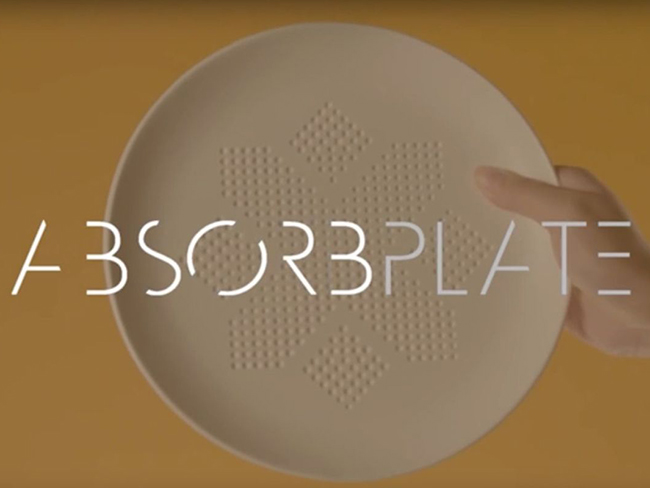 Magic plate claims to absorb calories