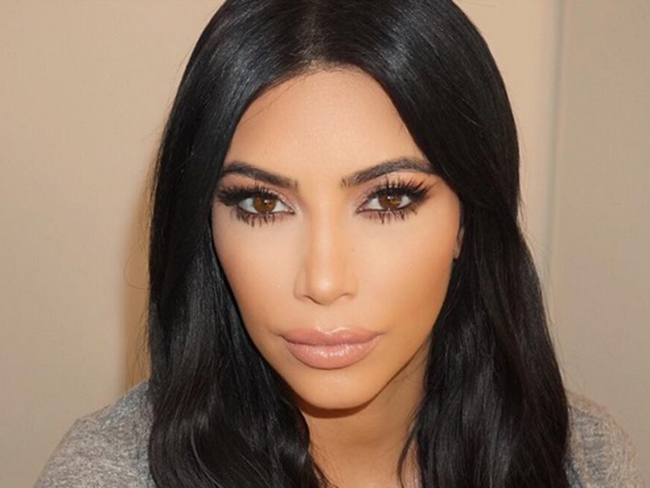 Kim Kardashian says she's over contouring and into a new makeup trend