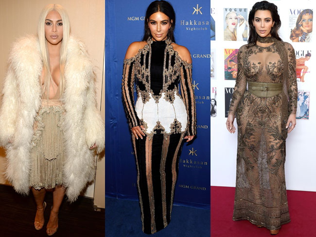 27 times Kim Kardashian's style had our heads spinning
