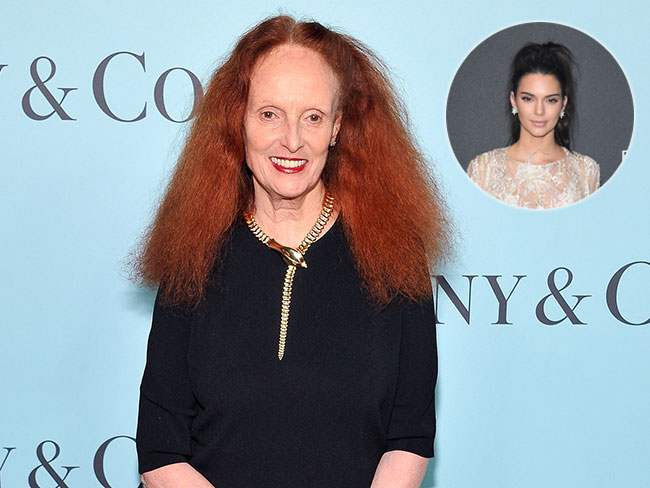 Vogue legend, Grace Coddington, says she 'didn't fall in love' with Kendall Jenner