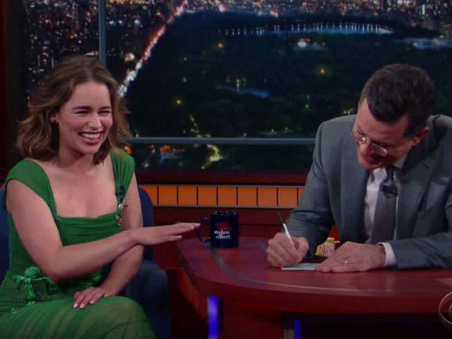 Emilia Clarke talks about Game of Thrones freeing the peen