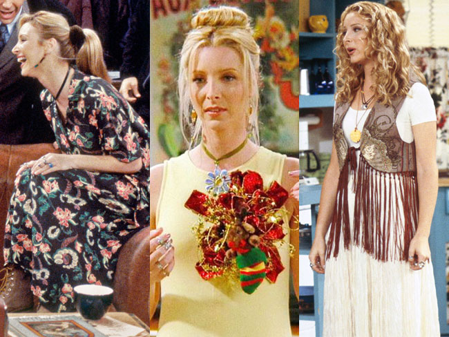 40 Phoebe Buffay fashion moments you forgot you were obsessed with on Friends