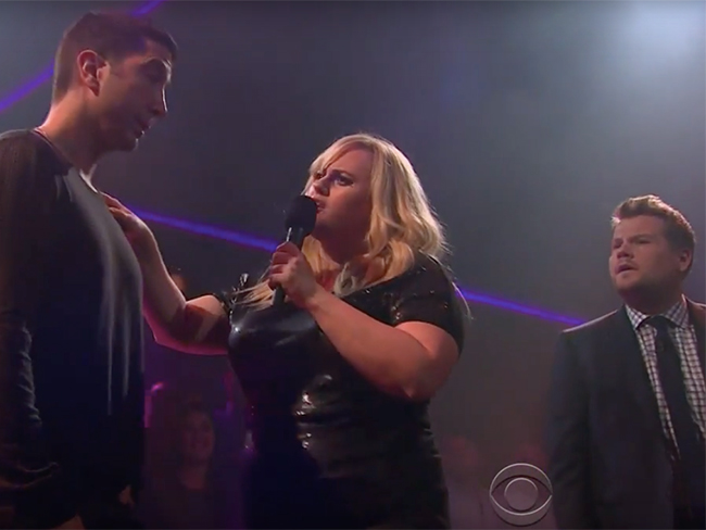 David Schwimmer took on James Corden in a brutal rap battle