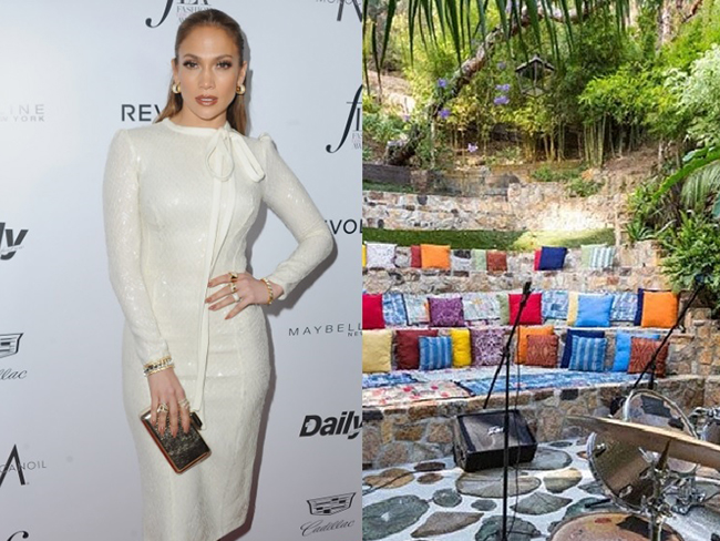 Jennifer Lopez's new $40 million Bel Air estate is out of this world
