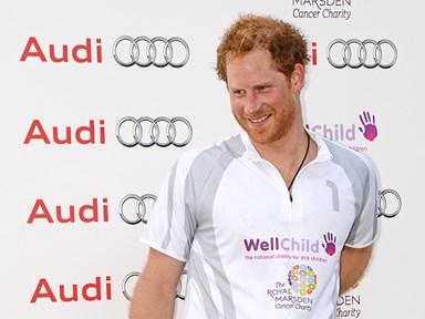 Prince Harry's photobomb skills are on point