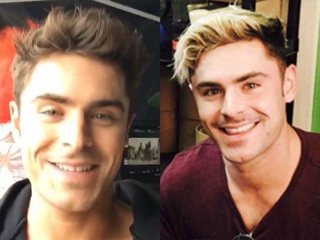 Zac Efron has mutilated his beautiful hair, everyone. We're unsure whether he's suddenly into channelling Justin Bieber or it's for a film role. Either way, please make it go away soon. Thanks then.