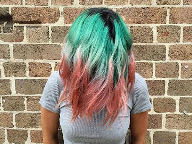 Watermelon hair is now a thing