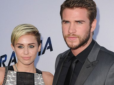 Miley Cyrus is a Hemsworth now, at least according to her T-shirt