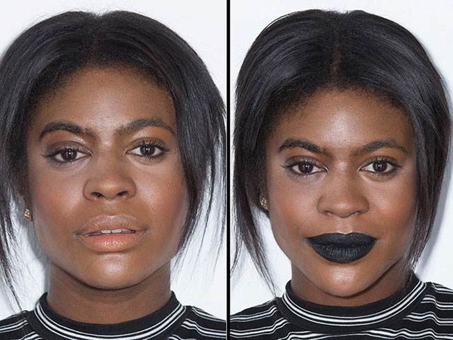 10 women tried Kylie's black Lip Kit and it was an experience