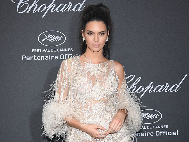 Watch Kendall Jenner lose her shit after finding her first grey hair