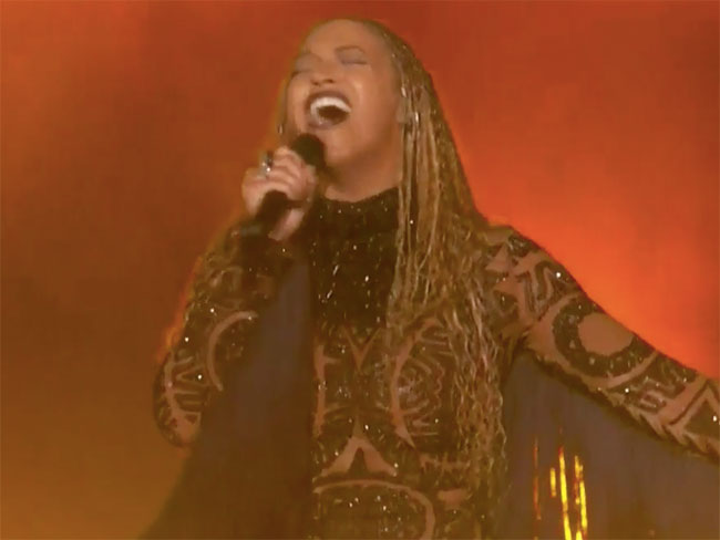Beyonce's surprise performance at the BET Awards will give you goosebumps