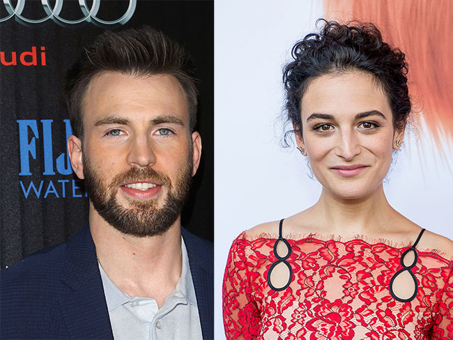 Chris Evans and Jenny Slate go public with their relationship, hearts are broken everywhere