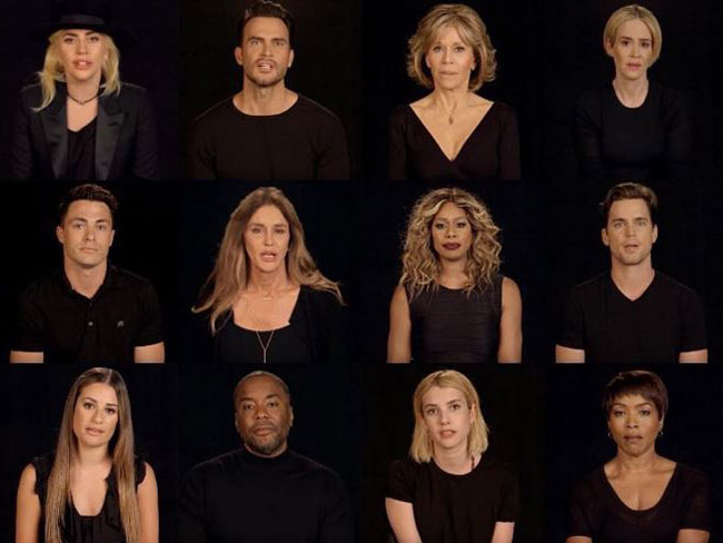 49 celebrities honour the 49 Orlando shooting victims in this moving tribute