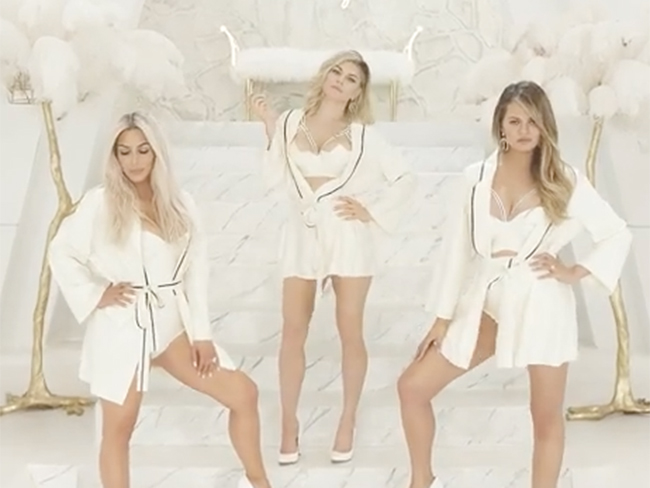 "Fergie's video for ""M.I.L.F $"" stars line-up of hot mamas including Kim Kardashian and Chrissy Teigen"
