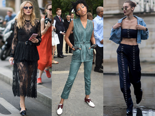See the best celeb street style at Haute Couture Fashion Week