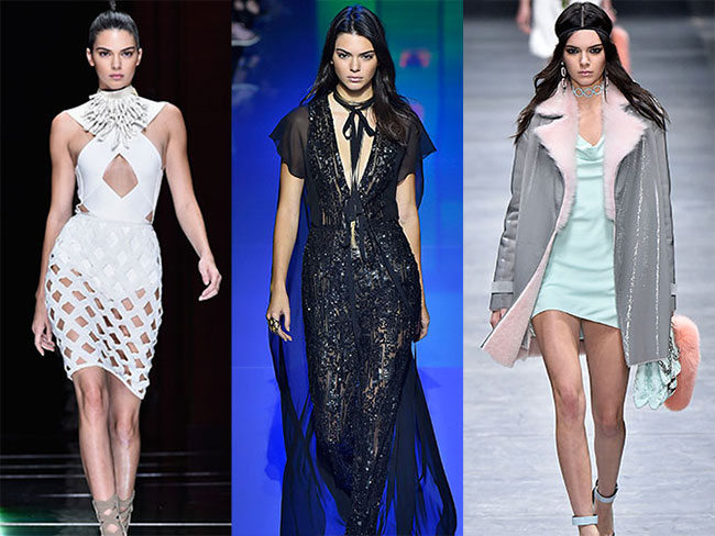 33 times Kendall Jenner absolutely slayyed the runway