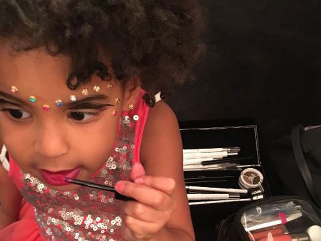 Official: Blue Ivy is a fashion KWEEN