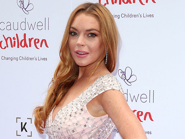Lindsay Lohan accuses fiancé of cheating and hints at pregnancy in online rant