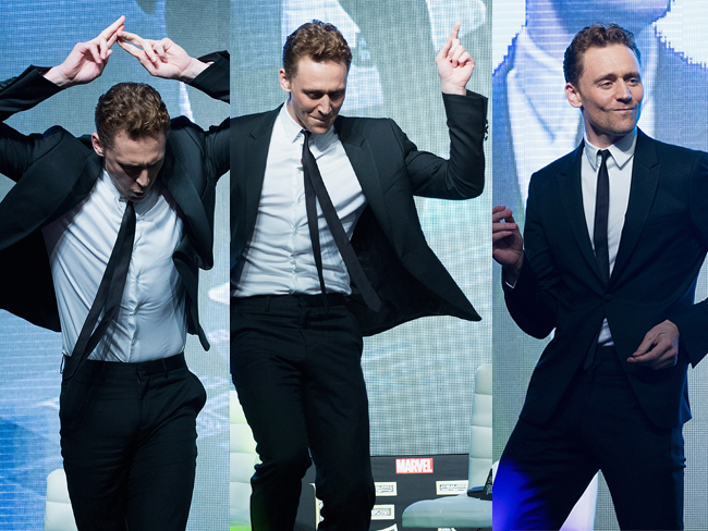 19 gifs of Tom Hiddleston dancing to improve your day