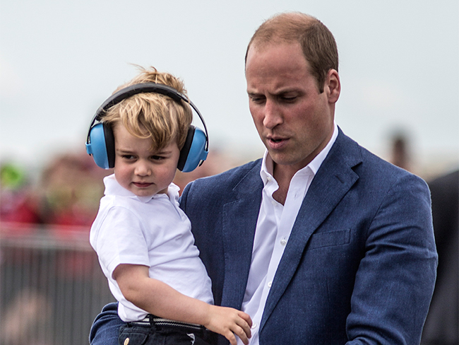 Prince George wins at birthdays, got an insane amount of presents